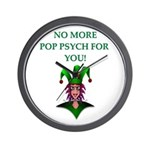 pop psych Wall Clock