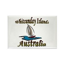 Whitsunday Islands Rectangle Magnet (10 pack)