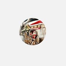 carte_noel_cheval Mini Button