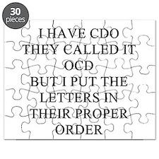 obsessive sompulsive disorder joke Puzzle