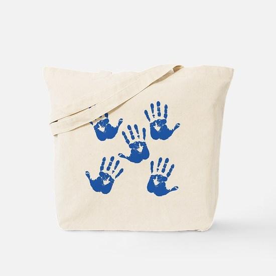 handprintBack Tote Bag