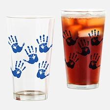 handprintBack Drinking Glass