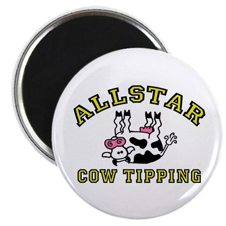 allstar cow tipping Magnet