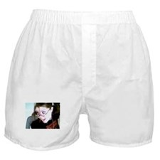 Plain Boxers with image of a cutie :)