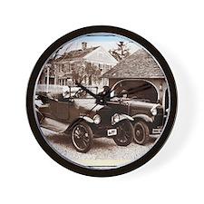 VintageAuto Wall Clock