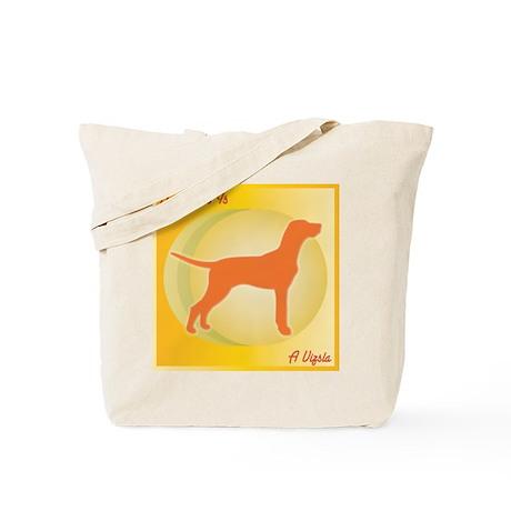 Vizsla Happiness Tote Bag