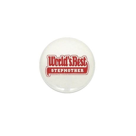 """World's Best Stepmother"" Mini Button"