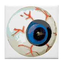 eye teddy Tile Coaster