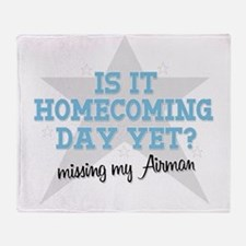 homecoming4 Throw Blanket