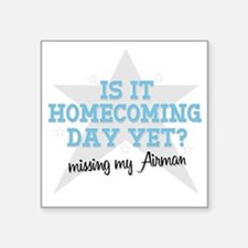 "homecoming4 Square Sticker 3"" x 3"""