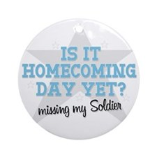 homecoming3 Round Ornament