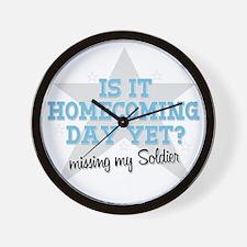 homecoming3 Wall Clock