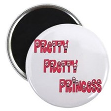 Pretty Pretty Punk Rock Princ Magnet