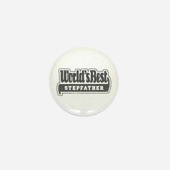 """World's Best Stepfather"" Mini Button"