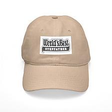 """World's Best Stepfather"" Baseball Cap"