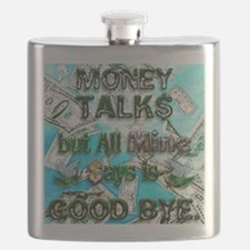 Money Talks Flask