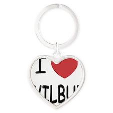 WILBUR Heart Keychain