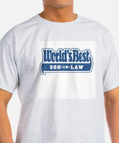 """""""World's Best Son-in-Law"""" Ash Grey T-Shirt"""