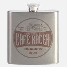 Vintage Cafe Racer Flask