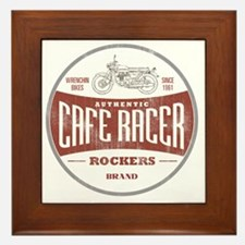 Vintage Cafe Racer Framed Tile