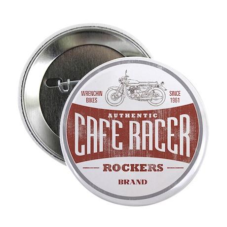 """Vintage Cafe Racer 2.25"""" Button"""