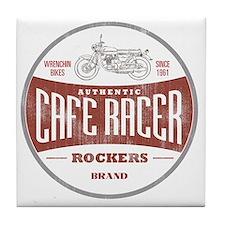 Vintage Cafe Racer Tile Coaster