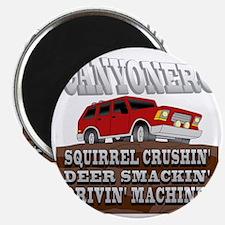 canyonero on black3-01 Magnet
