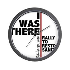i was there sanity Wall Clock