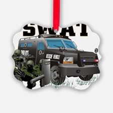SWAT VEHICLE Ornament