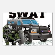 SWAT VEHICLE Postcards (Package of 8)