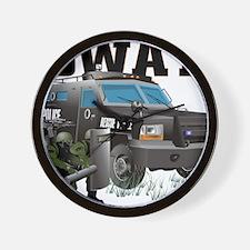 SWAT VEHICLE Wall Clock