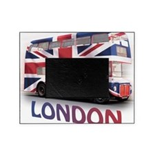 497 London Bus with Union Jack and t Picture Frame