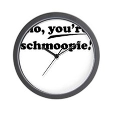 no_youre_text_only Wall Clock