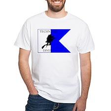 Tech Diver Alpha Flag Shirt
