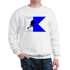 Tech Diver Alpha Flag Sweatshirt