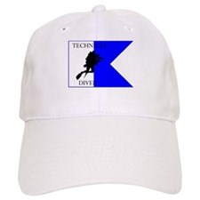 Tech Diver Alpha Flag Baseball Cap