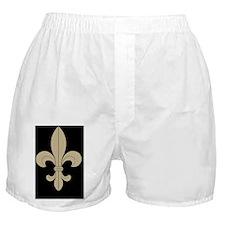 FLEUR DE LIS  note cards black and go Boxer Shorts