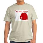 Red Shirt Society Ash Grey T-Shirt