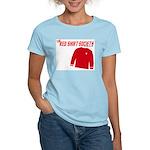 Red Shirt Society Women's Pink T-Shirt