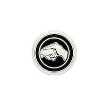Kenpofistblack Mini Button