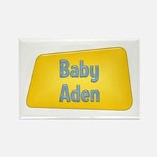 Baby Aden Rectangle Magnet