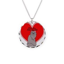 Love My Cat Necklace