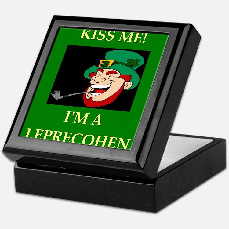 irish jewish ireland leprechaun leprecohen Keepsak