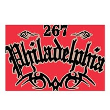 Philadelphia 267 Magnet Postcards (Package of 8)