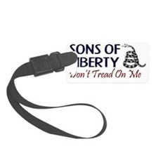 Sons-of-liberty-(dont-tread-on-m Luggage Tag