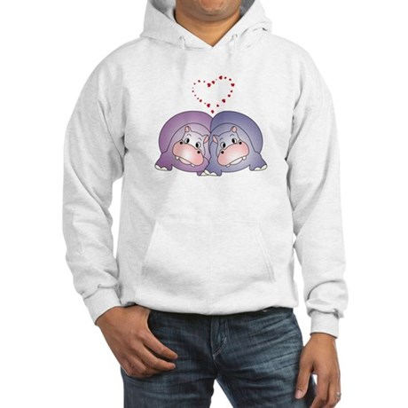 Hippo Love Hooded Sweatshirt