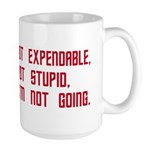 Red Shirt Society Large Mug