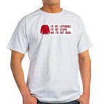 Red Shirt Society Ash Grey T-Shirt