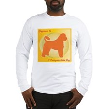 Portuguese Water Dog Happiness Long Sleeve T-Shirt