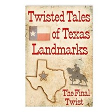 Twisted Tales of Texas La Postcards (Package of 8)